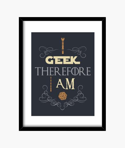 Cadre je geek