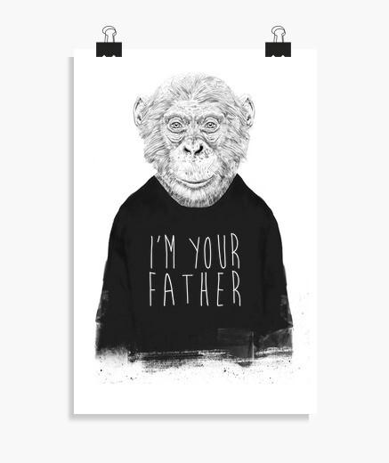 Poster je suis ton père