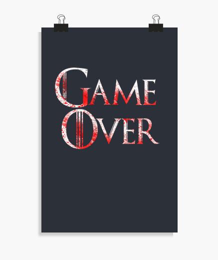 Póster juego terminado