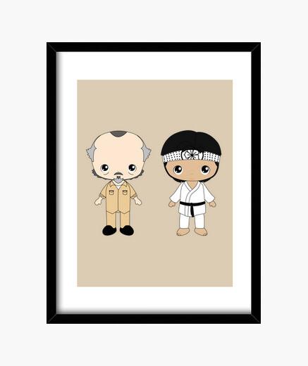 Cuadro Karate kid