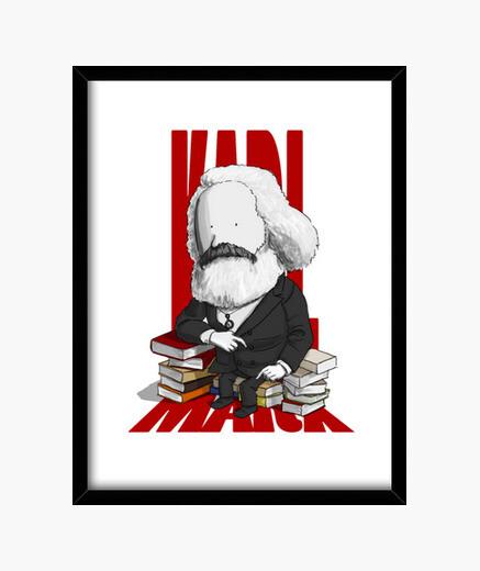Cuadro Karl Marx by Calvichi's