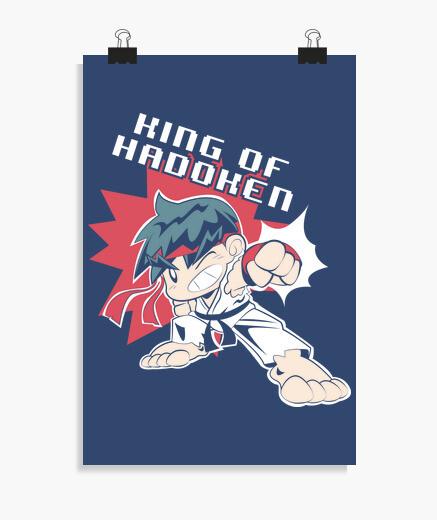 Póster king of hadoken