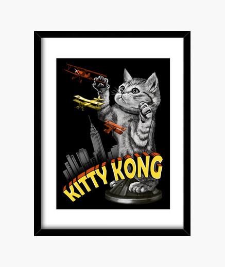 Cuadro Kitty Kong