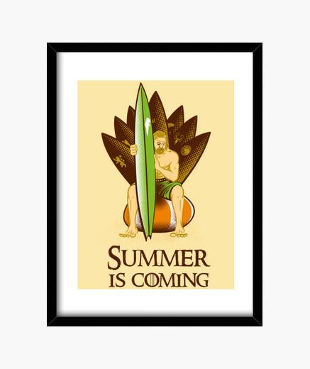 Cadre l' été est à coming # 2