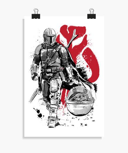 Poster l one hunter e un cucciolo