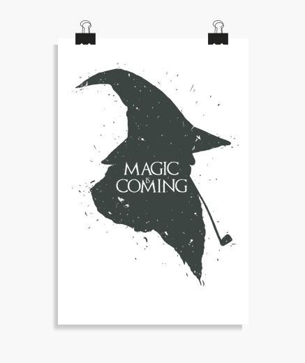 Poster la magie coming