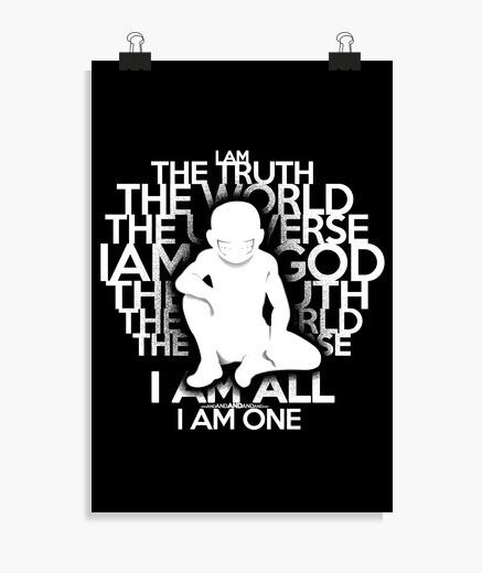 Poster la vérité - version blanche