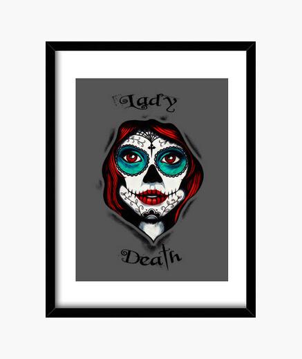 Cuadro Lady Death