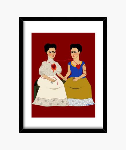 Cuadro Las dos Fridas