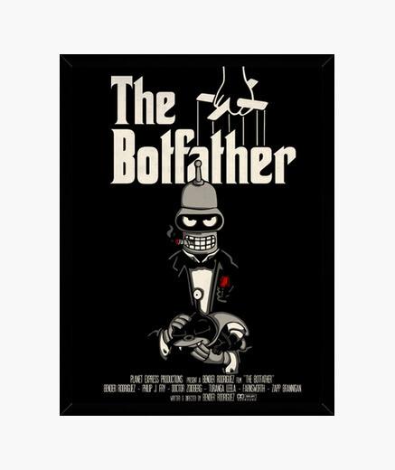 Cadre le botfather (affiche du film)