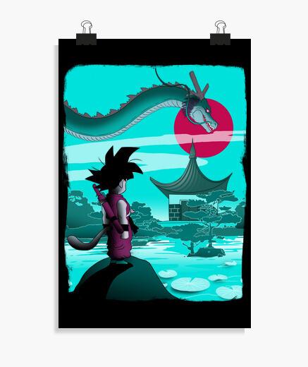 Poster le dragon éternel