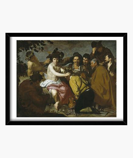 Cadre le triomphe de bacchus (1626-1628)