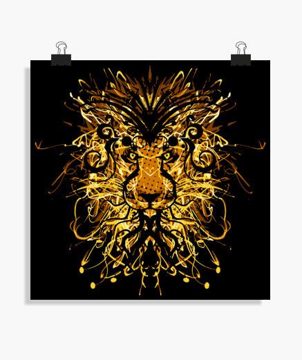 Póster león