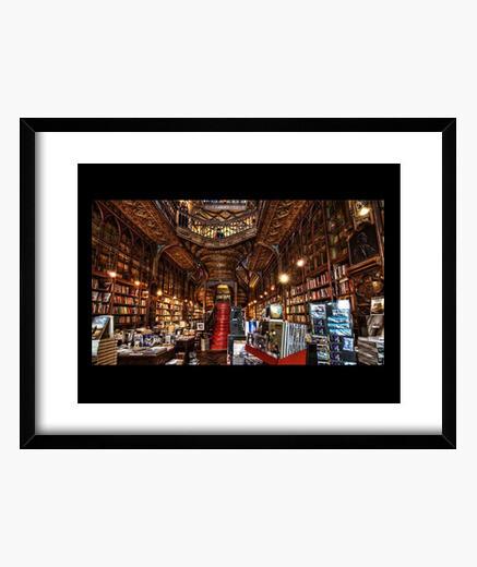 Cuadro Librería Lello e Irmão, Oporto,...
