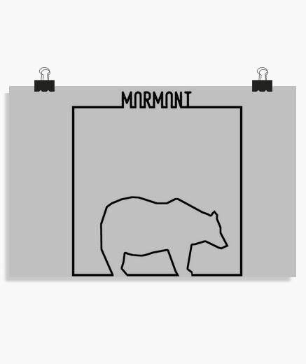 Poster linéaire - mormont