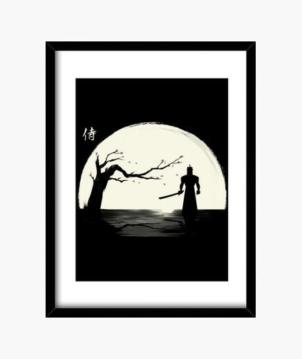 Cadre l'ombre des samouraïs