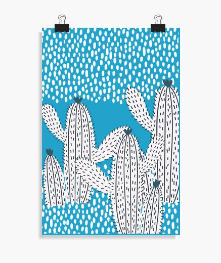 Póster los cactus