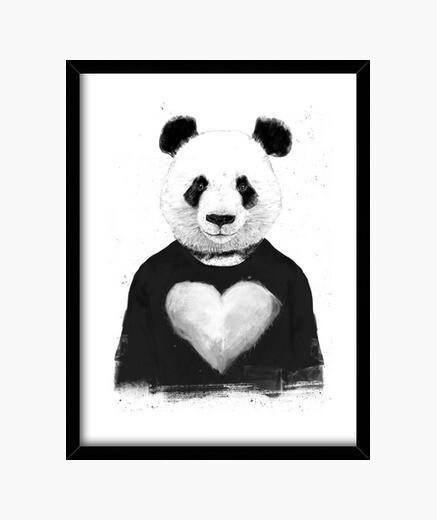 Cuadro Lovely panda