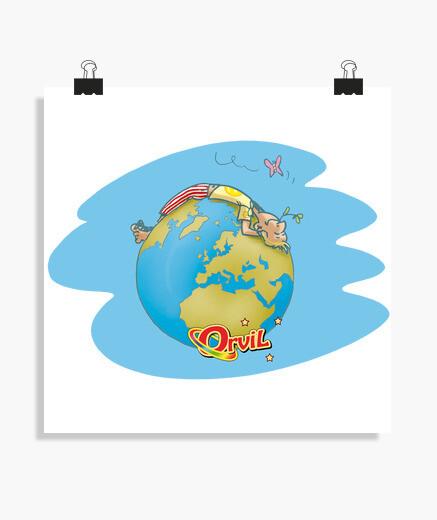 Poster Ma planète