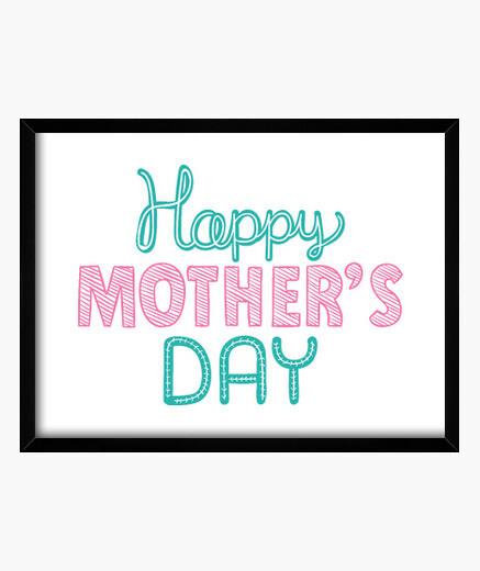 Quadro madri felici day