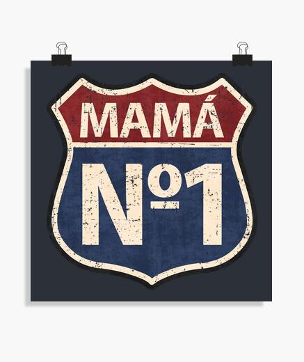 Póster Mamá Nº1