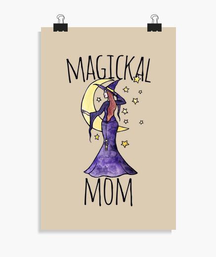 Poster maman magickal