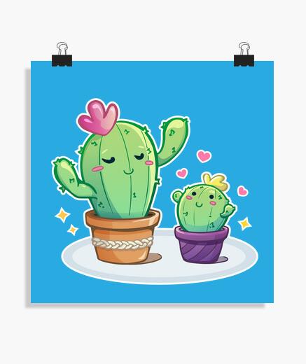 Mami cactus - póster