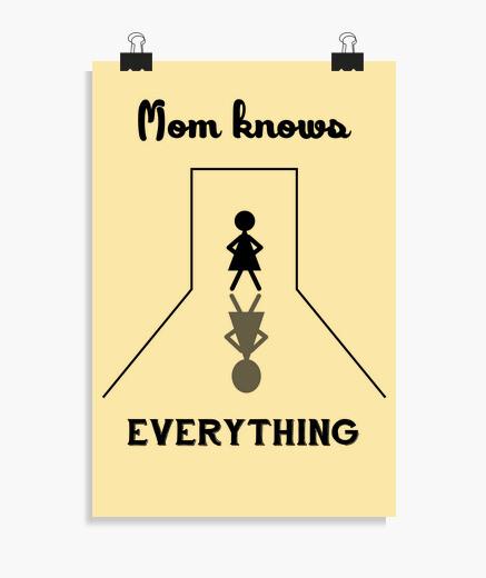 Poster mamma sa tutto
