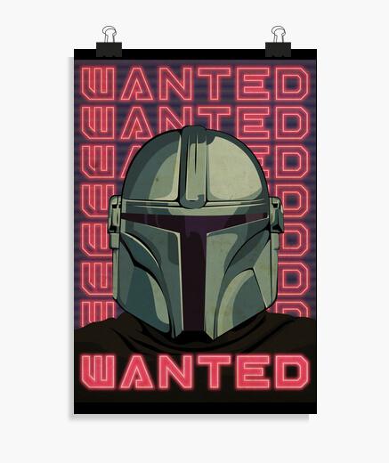 Mandalorian Wanted, Póster vertical