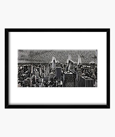 Cuadro Manhattan