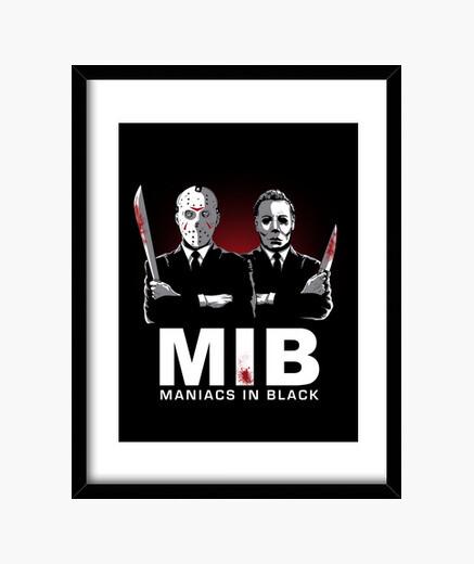Cuadro Maniacs in Black
