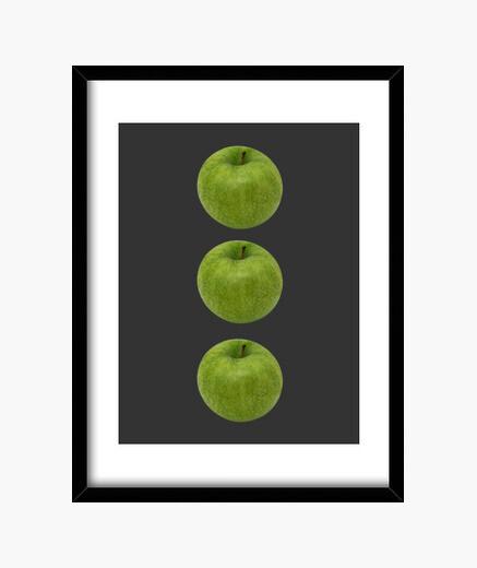 Cuadro Manzanas