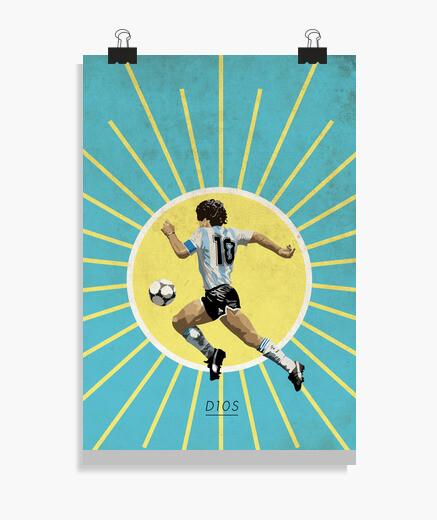 Póster Maradona Poster