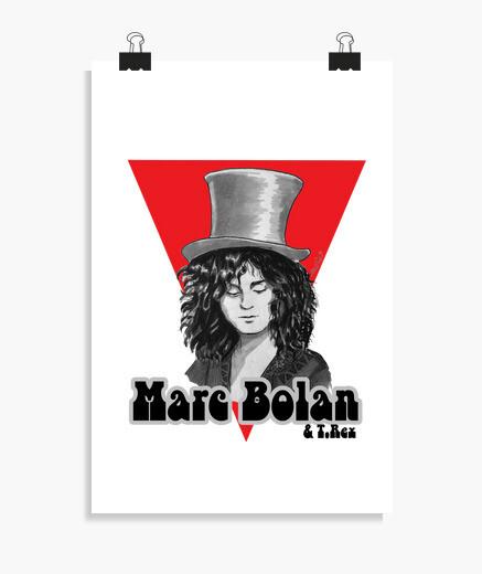 Póster Marc Bolan & T. Rex