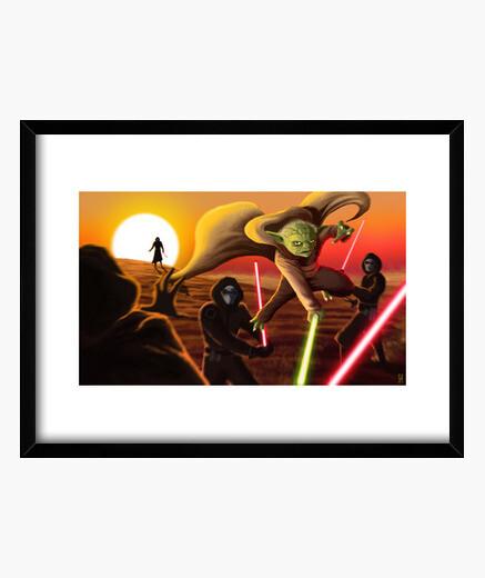 Cuadro Master Yoda
