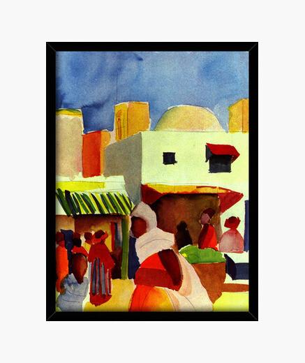 Quadro mercato in algeri (1914)