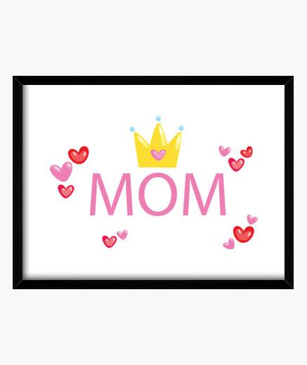 Cuadro Mom