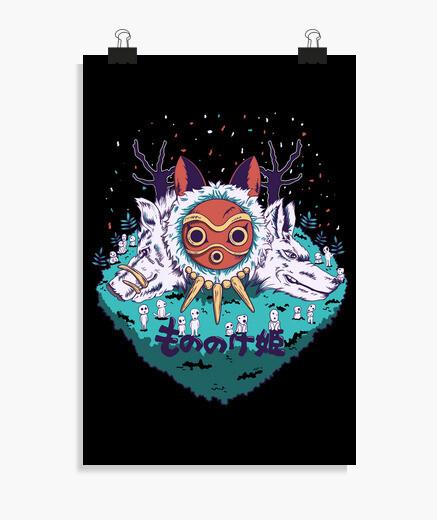 Poster mononoke cold