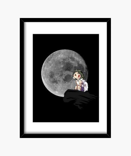 Cuadro Mononoke Moon