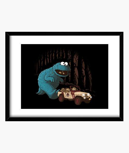 Cuadro Monster Park Print