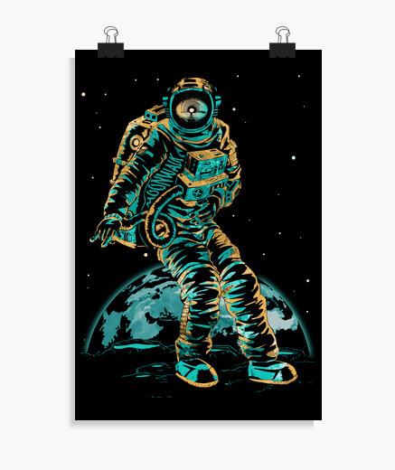 Poster moonwalk