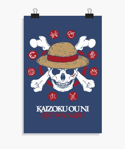 Poster mugiwara kaizoku