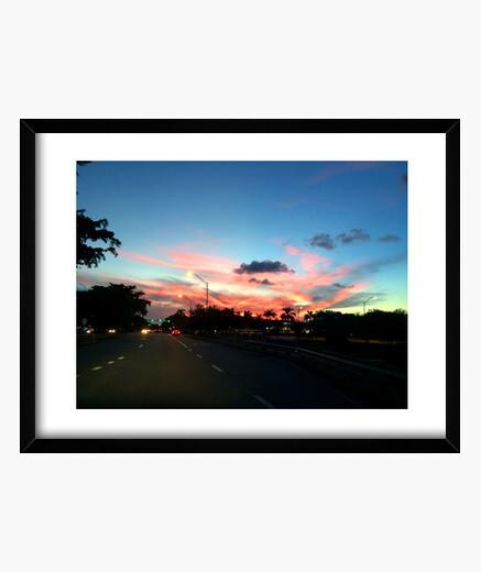 Cuadro Multicolor Sky