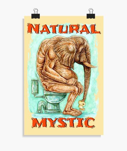 Poster mystique naturel