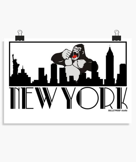 Póster New Yorilla
