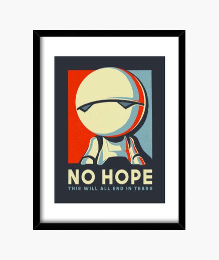 Cuadro No hope print