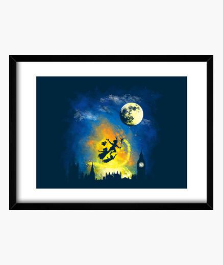 Cuadro noche mágica