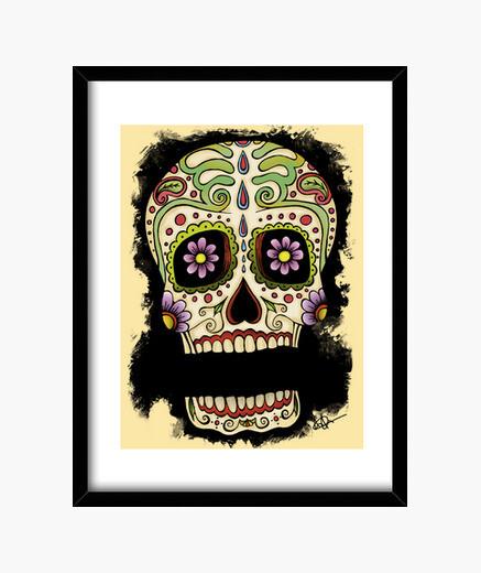Cadre nom mexicain de votre crâne !!!