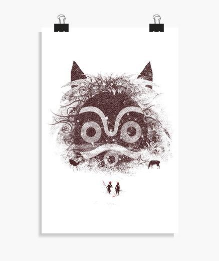 Poster nouveaux défenseurs de la forêt