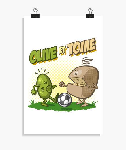 Poster Olive et Tome